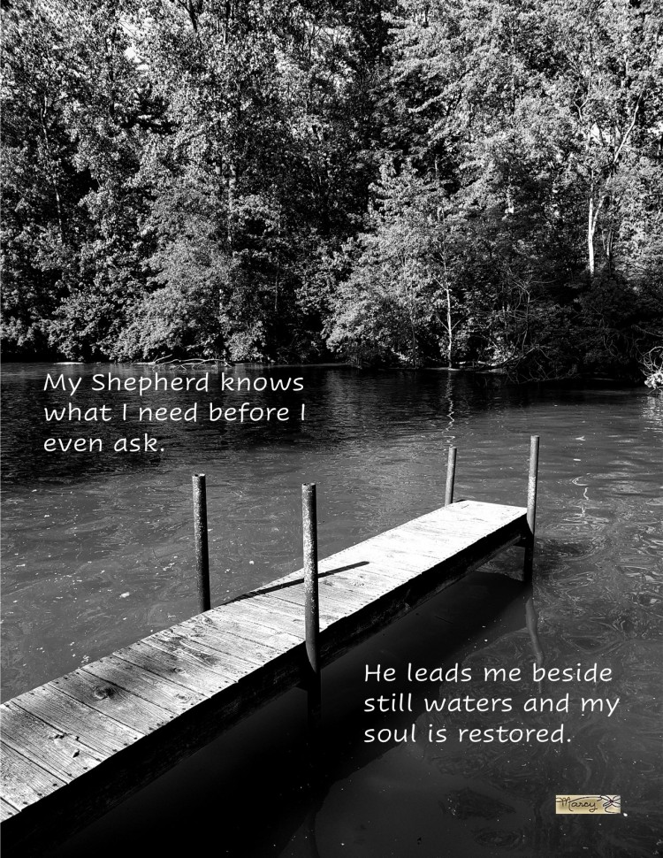 And I Heard Him Whisper - The Happy Place - Inspirational Picture